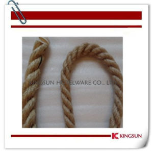 Bp240f Braided Hemp Rope with Snap Ends pictures & photos