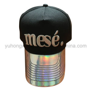 Iridescent Snap Back Hat, Baseball Cap, Sports Hats