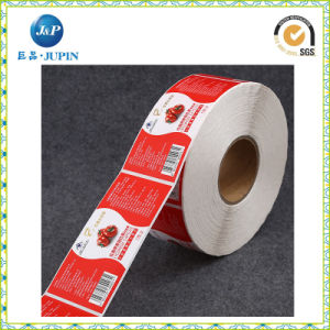 2016 Wholesale Price Logo Printing Custom Adhesive Sticker Labels on Roll (JP-S140) pictures & photos
