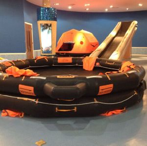 Solas Approved Rigid Open/Reversible Inflatable Life Raft pictures & photos