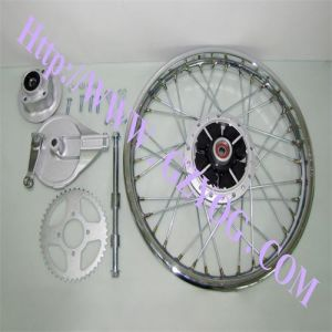 Yog Motorcycle Parts Motorcycle Rear Wheel Assy for Cgl125 1.85-18 pictures & photos