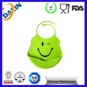 High Quality Silicone Baby Bibs, Waterproof Silicone Baby Bibs pictures & photos