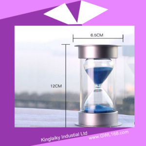 Decoration Gift Clear Glass Sand Timer (KHA-004) pictures & photos