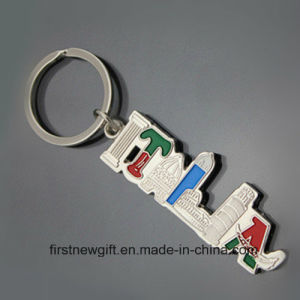 Italia Souvenir Gift Tour Product Keyring Customized Key Chain (F1423) pictures & photos