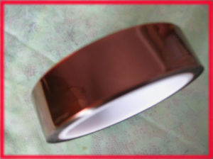 Polyimide Tape, Also Called Goldfinger Tape, Kapton Tape pictures & photos