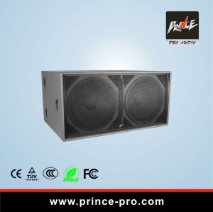 Dual 18inches Karaoke PA Subwoofer Speaker pictures & photos