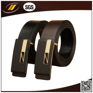 OEM Luxury Real Cow Leather Belt Brown Men′s Belt (HJ171) pictures & photos
