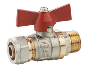 High Quality Brass Ball Valve with Compression End (NV-1079) pictures & photos