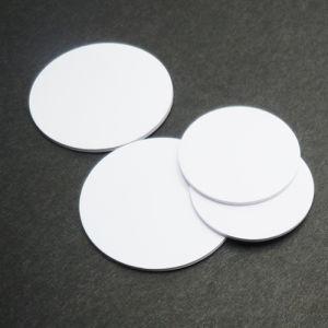20mm Ntag213 216 RFID Round Tag PVC Disc Tag