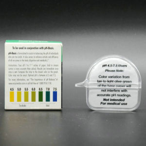 Transparent Box pH Test Paper pH Saliva & Urine Test Strip 4.5-9.0 /Chinese Factory pictures & photos