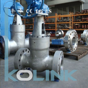 Pressure Seal Bonnet Gate Valve Flanged End