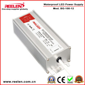 12V 8.5A 100W Waterproof IP67 Constant Voltage LED Power Supply Bg-100-12 pictures & photos