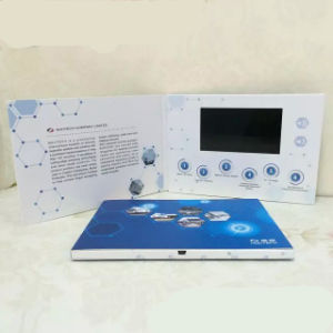 7 Inch Hot LCD MP4 Player Video Greeting Card pictures & photos