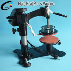 Manual Ceramic Plate Heat Press Machine pictures & photos