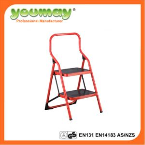 En14183 Steel Ladder with 2 Steps (SF0302A) /Steel Chair