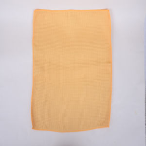 Orange, Grid, Ultra-Fine Fiber Cleaning Cloth, Durable, Protective Hand, Strong Decontamination, Not Hair Removal, Do Not Fade, Cleaning Equipment pictures & photos