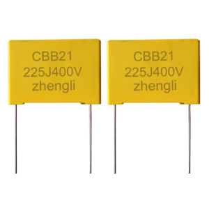 Cbb21-B Box Metallized Film Capacitor