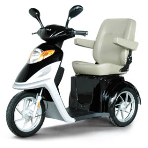 150kg Load Hand Brake 500W Electric Tricycle for Disabled pictures & photos