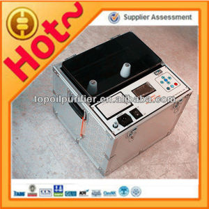 Portable Dielectric Strength Usage ASTM D1816 Insulating Oil Tester pictures & photos