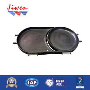Competitive Price Cookware Cast Aluminum Grill Plate pictures & photos