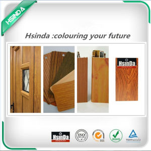 3D Stable High Imitation Wood Effect Heat Transfer Powder Coating pictures & photos