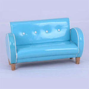 Fashion House Baby Leather Buckle Sofa Chair/Children Furniture (SF-158) pictures & photos