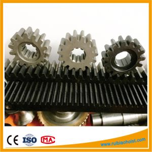 Gear Rack and Pinion for Construction Hoist, Electric Motor Gearbox pictures & photos