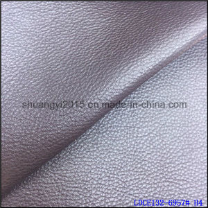 Top Selling Microfiber Emboss PU for Shoes Bags pictures & photos