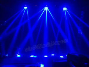 8 PCS RGBW LED Infinite Spider Moving Head Light pictures & photos