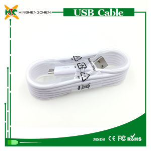 Wholesale Telephone USB Data Cable for Samsung V8 Interface pictures & photos