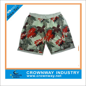 Floret Fashion Customized Beach Short with High Quality (CW-B-S-25) pictures & photos