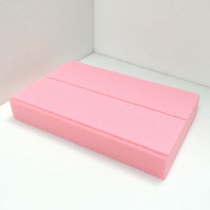 Fuda Extruded Polystyrene (XPS) Foam Board B3 Grade 200kpa Pink 30mm Thick Slotted