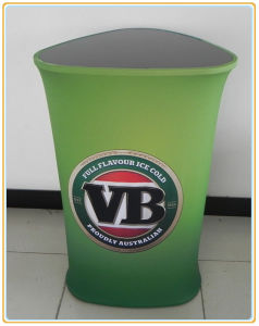Promotional Pop up Counter Display Sign Banner Stand pictures & photos