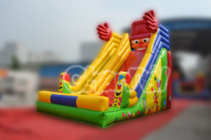 2015 New Design Inflatable Clown Funcity Slide Commercial Rental Use pictures & photos