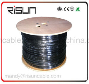 FTP CAT6 Cable (LAN Cable / Network Cable) Solid Bare Copper Fluke Test Passed pictures & photos