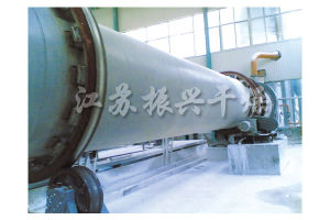 Single Rotary Model Industrial Drum Dryer for Magnetic Powder
