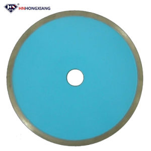 Continuous Diamond Cutting Disc for Glass Sawing pictures & photos
