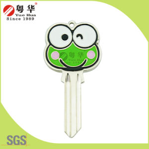 3D Animal Painted Color Yuehua Key Blanks pictures & photos