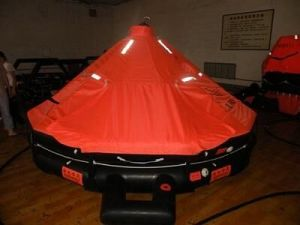 Solas Approval Cheap Marine Inflatable Throw Overboard Life Raft/Liferaft pictures & photos