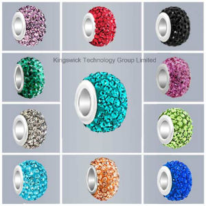 Fashion Crystal Ball Jewelry Findings Crystal Shamballa Beads DIY Beads pictures & photos