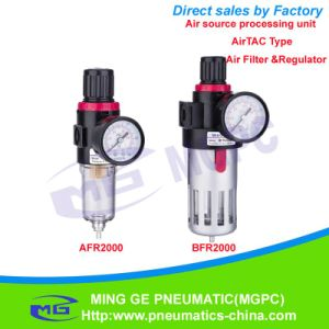 Air Filter and Regulator Combination of Air Source Treatment Unit (AFR, BFR Airtac Type)