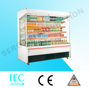 Open Refrigerator Display Case for Drink and Beverage pictures & photos