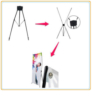 Portable Outdoor X Banner Stand (80*200cm) pictures & photos