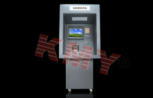 Customized Touch Screen Bill Acceptor Banking Kiosk Kmy8301b pictures & photos