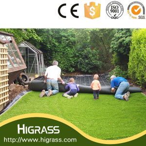 China Made Natural Looking Synthetic Turf with Best Price Value pictures & photos