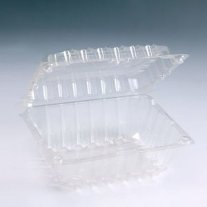 Food Grade Blister Transparent Plastic Container PET Packaging