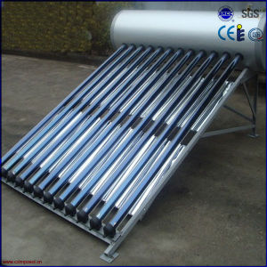 High Efficiency Pressurized Solar Water Heater with Reflector pictures & photos