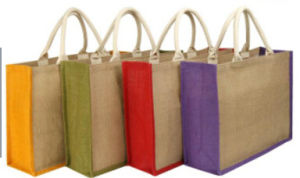 Jute Shopping Bag Recycable Jute Bag pictures & photos