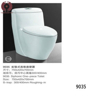 Foshan New Design Two Piece Toilet (9047) pictures & photos