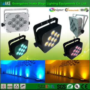 Producer of RGBW 9PCS LED Wireless Battery PAR Light